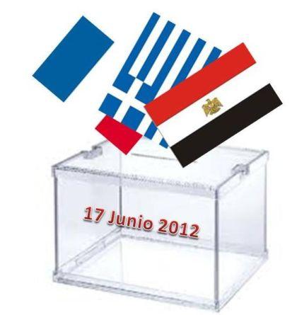 Elecciones claves en Francia, Grecia y Egipto